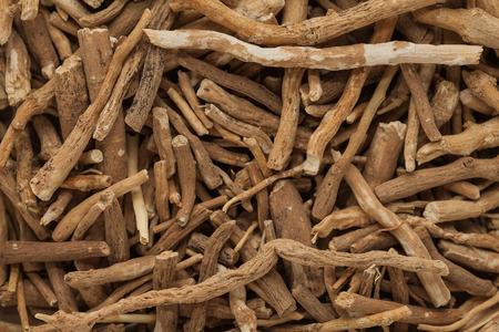 Herbal Medicine: Ashwagandha roots